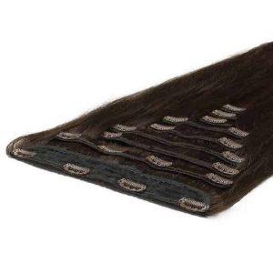 Clip In Extensions Deluxe 50cm 200g 02 Donker Bruin-2972