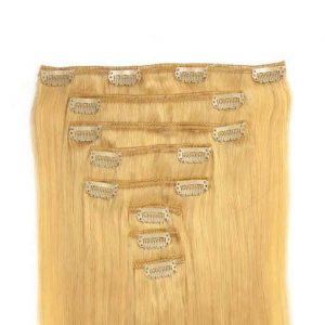 Clip in Extensions 60cm 160g 613 Ultra Licht Blond-0