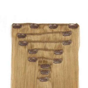 Clip in Extensions 60cm 160g 16 As Blond-0