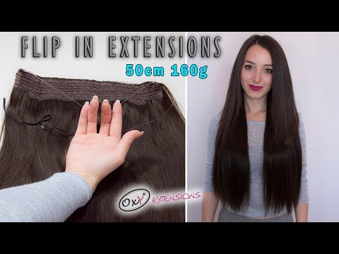 Wire Hair Extensions 55cm 160g - Premium Line-622