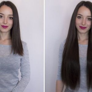 Wire Hair Extensions 55cm 160g - Premium Line-0