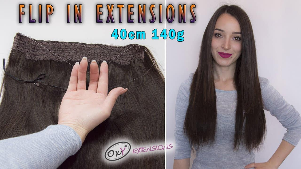 Premium wire hair extensions 40cm 140gr